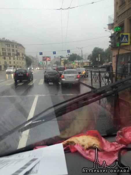Угол Московского и Обводного канала.