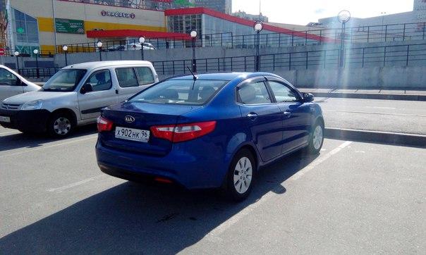 Угнан автомобиль Kia Rio седан, цвет синий, гос номер Х 902 НК 96 регион! Угнан ночью 13.09.2017 с у...