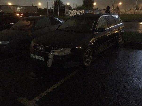 Ищу свидетелей ДТП на парковке у ТРК Лето на Пулковском шоссе! Volvo седан темного цвета раскурочил...