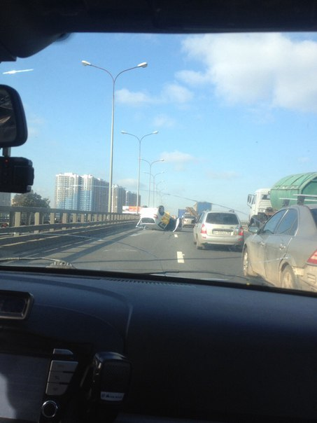 Авария на мосту, Витебский проспект