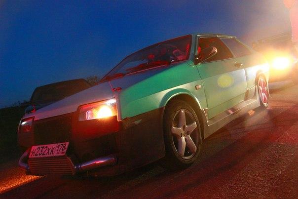 30 сентября угнали автомобиль ВАЗ 21099 купе, зеленого цвета
